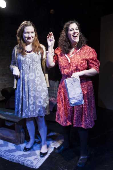 """Stephanie as Clara in Tom Griffin's """"The Boy's Next Door"""" at the Drilling Co., NYC."""