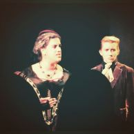 """with Estelle Olivia in Nicu's Spoon Theater Co. production of Shakespeare's """"Richard III"""" at the Secret Theatre"""