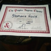 Diploma from the Peoples Improv Theater