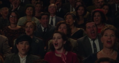 "Appearing as Linda on Amazon's ""The Marvelous Mrs. Maisel"