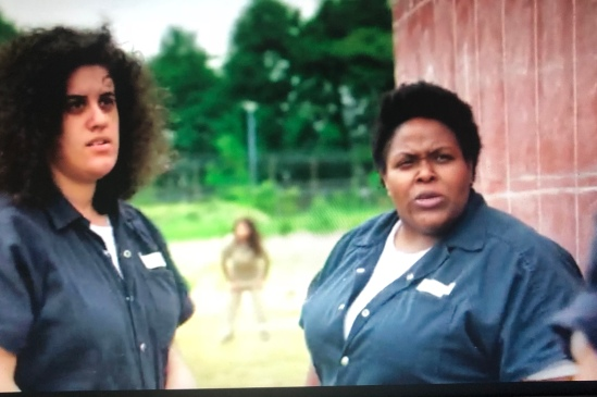 """as Carmen Campos on Orange is the New Black (Season 6) Episode: """"Look Out for Number One"""""""