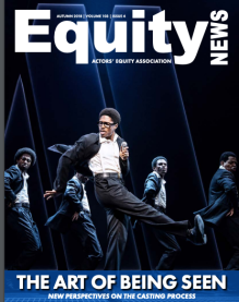 Stephanie is featured in the Winter 2018 issue of Equity News magazine!
